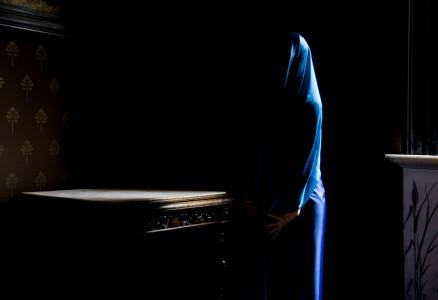 Women in Blue I.90x61.5cm
