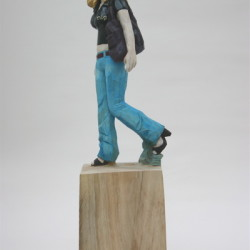 2010 hostility at 3pm h65x16x17cm camphor 2